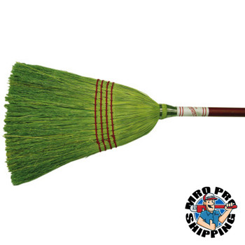 Anchor Products Economy Broom, Corn/Grass Bristle, 1 DZ (12 EA)