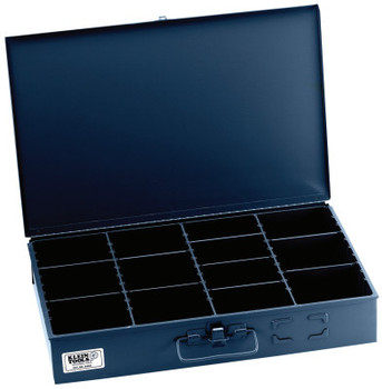 Klein Tools Adjustable-Compartment Boxes, W x 12 in D x 3 in H, (1 EA/EA)