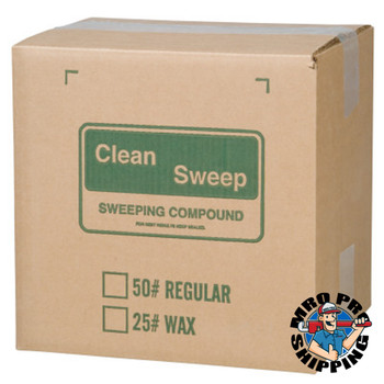 Anchor Products Wax-Based Floor Sweeping Compound, Green, 50 lbs (50 LB)
