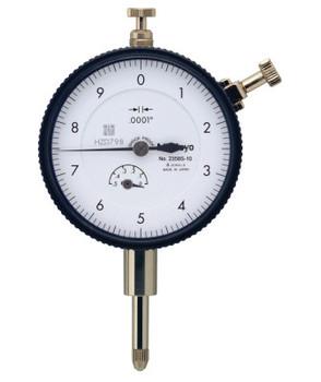 Mitutoyo Series 2 Standard Dial Indicators, 0-10 Dial, 0.5 in Range (1 EA/EA)