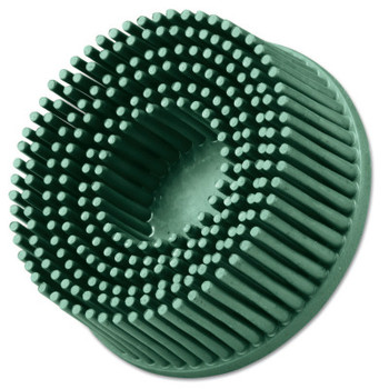 3M Roloc Bristle Discs, 2 in, 50, 25,000 rpm, Ceramic Abrasive Grain, Green (1 EA/EA)