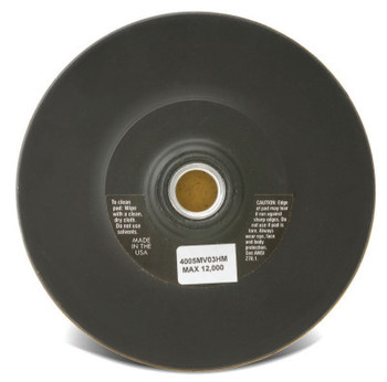CGW Abrasives Hook and Loop Backing Pads, 7 in Diameter (1 EA/PK)