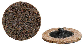 CGW Abrasives Quick Change Discs, 3 in, 20,000 rpm, Very Fine, Turn-On (25 EA/EA)