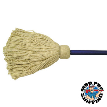 Anchor Products Deck Mops, 16 oz, Cotton, Blue (6 BDL/EA)