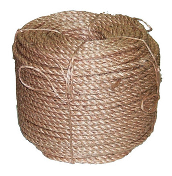 Anchor Products Manila Ropes, 3 Strands, 1 in x 125 ft (34 COIL/EA)