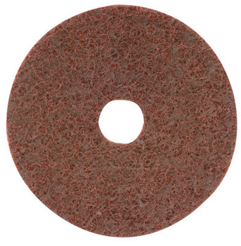 CGW Abrasives Surface Conditioning Disc, Hook & Loop w/ Arbor Hole, 7 in, 12,000 rpm, Grey (10 EA/EA)