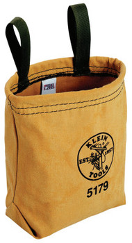 Klein Tools Water-Repellant Pouches, 1 Compartment, 9 in X 7 1/2 in (1 EA/EA)