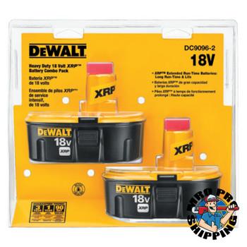 DeWalt XRP Rechargeable Battery Packs, 18 V (1 ST)