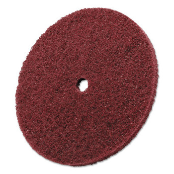 3M Scotch-Brite High Strength Discs, 8 X 1/2, 3000rpm, Aluminum Oxide, Medium (1 EA/ST)