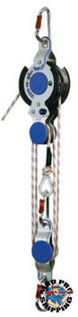 Capital Safety Rollgliss Rope Rescue Systems, 50 ft, Anchor Sling; Bag; Carabiner (1 EA/EA)