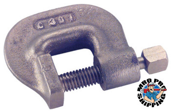 Ampco Safety Tools Clamps, Square Head, 3 in Throat Depth, 11 1/2 in L (1 EA/EA)