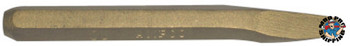 Ampco Safety Tools Chisels, 8 in Long, 1/2 in Cut (1 BIT/EA)