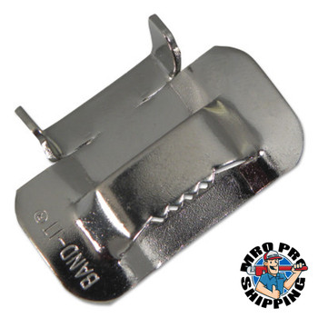 Band-It Type 316 Ear-Lokt Buckles, 5/8 in, Stainless Steel (100 BOX/EA)