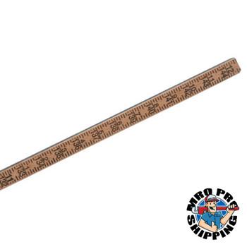 Bagby Gage Stick Gage Poles, 12 ft, 1-Piece (1 EA/SET)