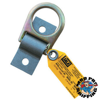 Capital Safety D-Ring Anchor Plates, 1/4 in, D-Ring, Permanent, Bolt/Weld (1 EA/EA)