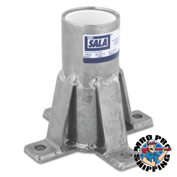 Capital Safety Advanced Floor Mount Sleeve Davit Bases, Davit Base, 14.5lb (1 EA/EA)