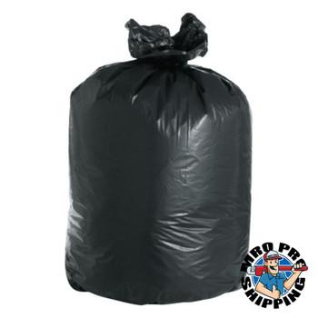 Boardwalk Super Extra-Heavy Can Liner, 38x58, 2 Mil, 60gal, Black, 10 Bag/RL (100 CT/EA)