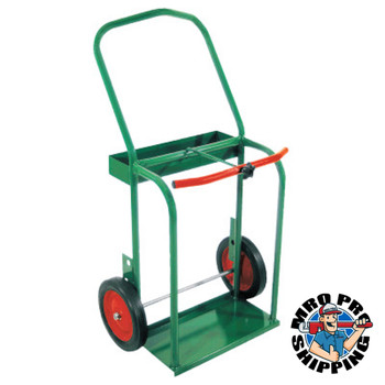 """Anthony High-Rail Frame Dual-Cylinder Carts, Holds 8""""-8.5"""" dia. Cylinders (1 EA/EA)"""