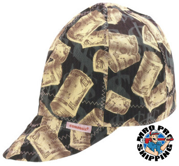 Comeaux Caps Deep Round Crown Caps, One Side, One Size Fits All, Assorted Prints (1 EA)