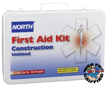 Honeywell Construction First Aid Kits, Metal (1 KIT/EA)