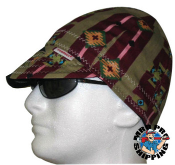 Comeaux Caps Deep Round Crown Caps, Reversible, One Size Fits All, Assorted Prints (1 EA)