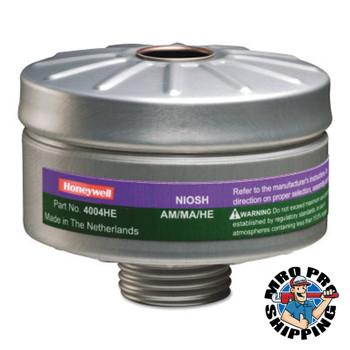 Honeywell Compact Air 200 Series PAPR Organic Vapor Cartridges w/HEPA, Ammonia;Methylamine (4 CA/EA)