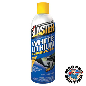 Blaster White Lithium Grease, 16 oz Aerosol Can (12 CA/EA)
