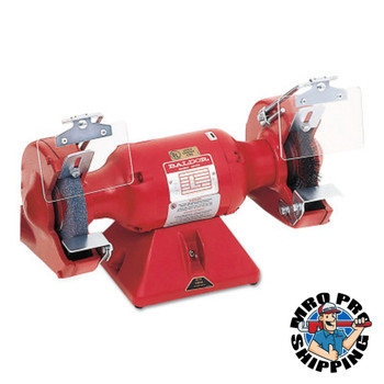 Baldor Electric Big Red Grinders, 7 in, 1/2 hp, Single Phase, 3,600 rpm (1 EA/EA)