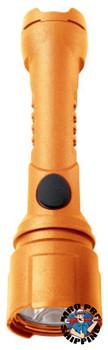 Bright Star Razor LED Flashlights, 3 AA, 125 lumens, Safety Orange (1 EA)