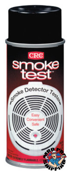 CRC Smoke Test Brand Smoke Detector Testers, 6 oz, Clear (12 CAN)