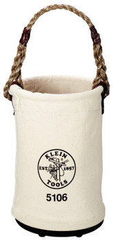 Klein Tools Straight Wall Buckets, 2 Compartments, 14 in (1 EA/EA)