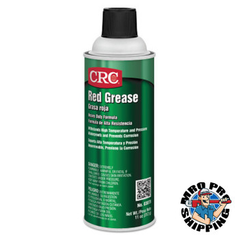 CRC Red Grease, 11 oz Aerosol Can (12 CAN)