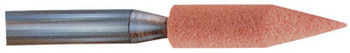 "Pferd Series A Shank Vitrified Mounted Point Abrasive Bits, A15, 1/4"", 60, O (10 EA/EA)"