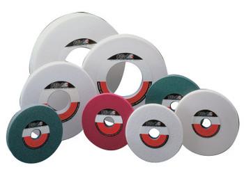 "CGW Abrasives White Aluminum Oxide Surface Grinding Wheels, T5, 8 X 1, 1 1/4"" Arbor, 46, I (10 EA/EA)"