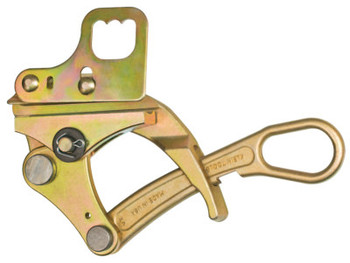 Klein Tools Parallel-Jaw Grips, Parallel Jaw, 10,000 lb Cap., Hot Latch, Locking Handle (1 EA/EA)