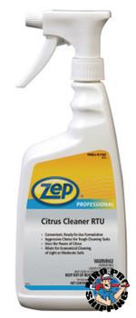 Zep Inc. Citrus Cleaner RTU, 32 oz Trigger Spray Bottle (1 EA/EA)