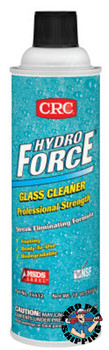 CRC HydroForce Glass Cleaners Professional Strength, 18 oz Aerosol Can (12 CAN)