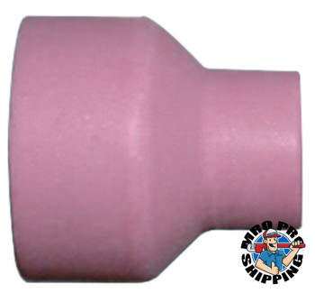 Best Welds Alumina Nozzle TIG Cups, 3/8 in, Size 6, For Torch 24; 24W, Nozzle, (10 PK/CA)