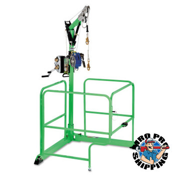 Capital Safety 4-in-1 Davit Guard Portable Confined-Space Entry Systems, Winch; SRL Bracket (1 EA/EA)