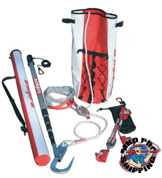 Capital Safety Rollgliss Rope Rescue Systems, 33 ft, Carabiner; Anchorage Strap; Extension (1 EA/EA)