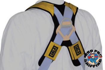 Capital Safety Delta Comfort Pads for Harnesses, 22 in, Gray/Yellow (1 EA/EA)