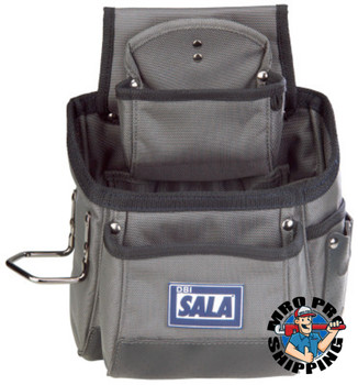 Capital Safety Tool Pouches, 15 Compartments, Gray (1 EA/EA)
