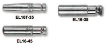 Esab Welding Eliminator Style Contact Tip, 0.045 in Wire, 0.054 in Tip, Tapered, EL16T (1 EA/SET)