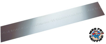 Band-It Giant Bands, 3/4 in x 100 ft, 0.044 in Stainless Steel 201 (1 ROL/EA)