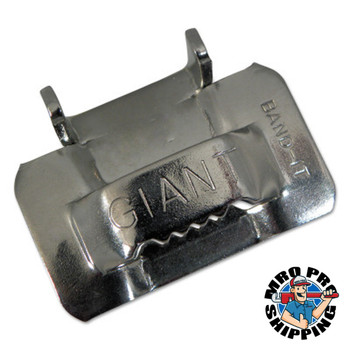 Band-It Giant Buckles, 1 1/4 in, Stainless Steel (25 BOX/EA)