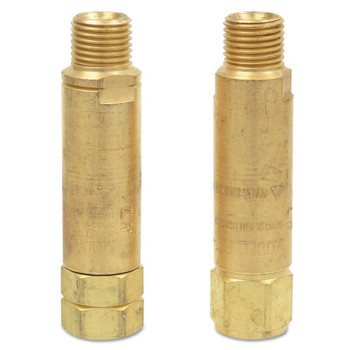 Esab Welding Flashback Arrestors, FBHC-ORC, Oxygen, C 7/8 in - 14 RH; CGA 024, Regulator (1 EA/BAG)