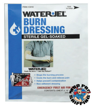 Honeywell Water Jel Burn Products, Dressing, 4 in x 16 in (1 EA/EA)