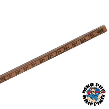 Bagby Gage Stick Gage Poles, 16 ft, 1-Piece (1 EA/EA)