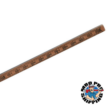 Bagby Gage Stick Gage Poles, 16 ft, 1-Piece (1 EA/EA)