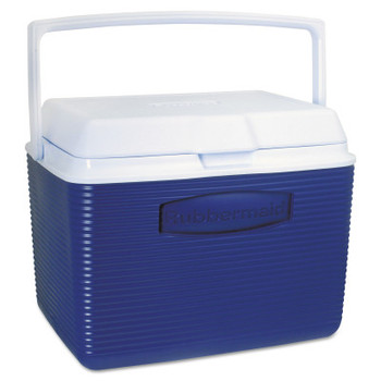 Newell Rubbermaid Coolers, 24 qt, Modern Blue (1 EA/EA)